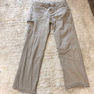 Gloria Vanderbilt missy khaki pants